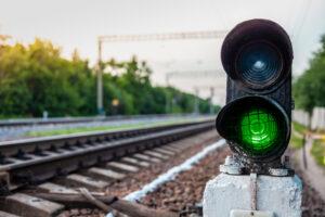 Zielone światło na sygnalizatorze